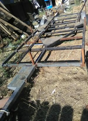 "Utility trailer 6'9""x14' usable deck for Sale in Ceres, CA"