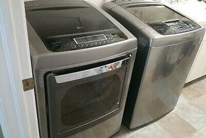 Lg smart W/D electric for Sale in Atherton, CA