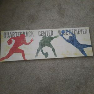 Football Canvas Picture for Sale in Windermere, FL