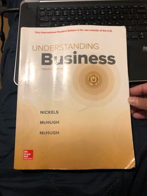 Understanding Business 12th Edition for Sale in South Pasadena, CA