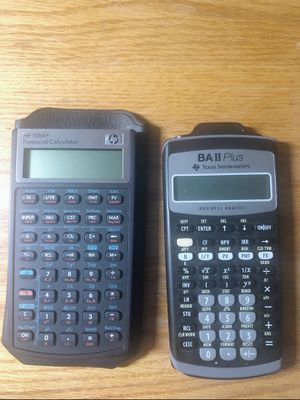 Financial calculators - $10 for one, $15 for two for Sale in Ithaca, NY