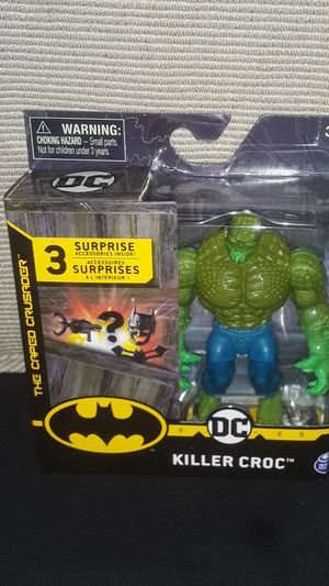 NEW HARD TO FIND DC BATMAN FEATURES KILLER CROC NEW IN BOX PERFECT for Sale in Providence, RI