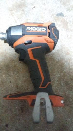 RIDGID 18-Volt Lithium-Ion Cordless Brushless 1/4 in. 3-Speed Impact Driver with Belt Clip (Tool Only) for Sale in Lithonia, GA