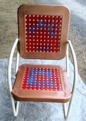 Metal chair for Sale in Montgomery, PA