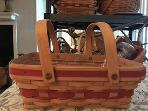 Longaberger basket for Sale in San Antonio, TX