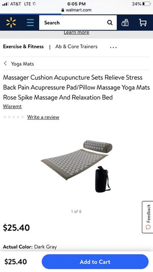 HEALTH TOUCH Acupuncture Massage Mat for Sale in Hanford, CA