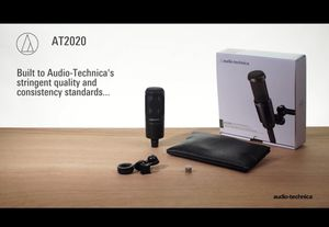 Microphone AT2020 Studio XLR + USB cable for Sale in Atlanta, GA