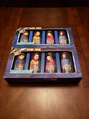 Star Trek Collectable Glasses for Sale in Surprise, AZ