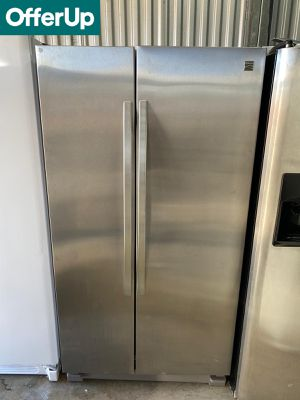 Kenmore Side by Side Refrigerator Fridge Stainless Steel #1261 for Sale in Orlando, FL