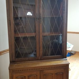 Ethan Allen Display Cabinet And Two Bookshelves for Sale in Bartlett, IL