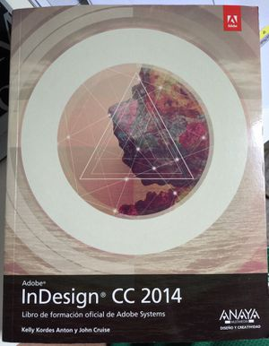 InDesign CC Classroom in a Book - SPANISH/ESPAÑOL (2014 version) for Sale in West Palm Beach, FL