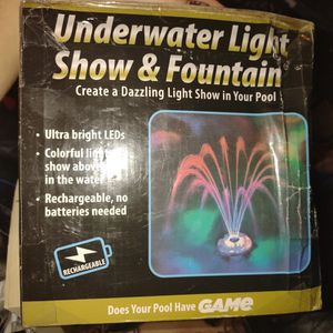 Underwater Light Show & Fountain for Sale in Bristol, VA
