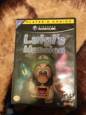 Luigi's Mansion CIB GameCube for Sale in Mundelein, IL