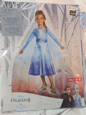 ELSA Frozen II Child Costume. New. Size X-Small 3-4T Toddler for Sale in Phoenix, AZ