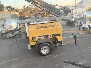 Allmand Night Lite Pro - Light Tower / Generator for Sale in Fontana, CA