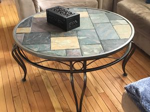 Coffee table and matching end tables in great condition. for Sale in Ashburn, VA