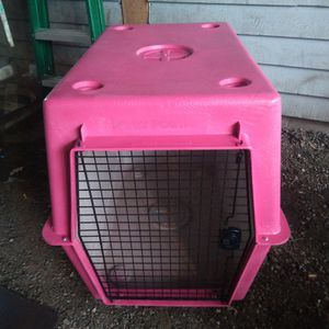 Pink Ex-Large Dog Kennel for Sale in Everett, WA
