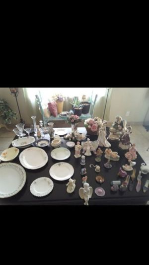 Home interiors decor Victorian statues / dolls collectables knick knacks decorative dishes for Sale in Phoenix, AZ