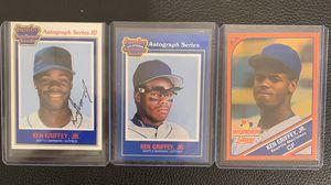 Ken Griffey Jr baseball cards for Sale in Hayward, CA