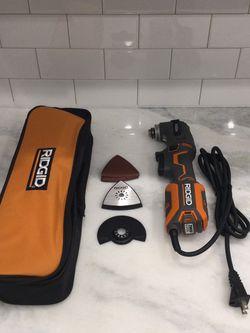 RIDGID Oscillating Multi Tool (Corded) for Sale in San Diego,  CA
