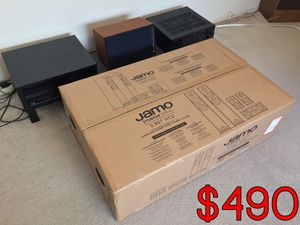 Jamo Studio Series S 807 Home Cinema System (Walnut Finish) + Motivated Seller for Sale in Chandler, AZ