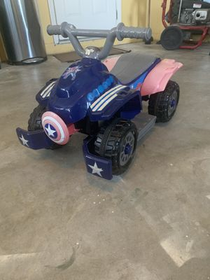 Captain America Electric 4 Wheeler for Sale in Fort Myers, FL