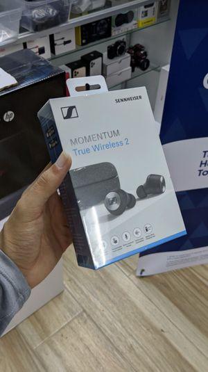 Sennheiser - MOMENTUM True Wireless 2 Noise Cancelling Earbud Headphones, Brand New in Box for Sale in Arlington, TX