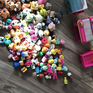 SHOPKINS AND LPS TOYS for Sale in La Mirada, CA