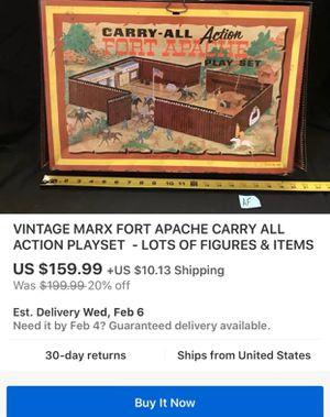 Vintage toys for Sale in Hensley, AR