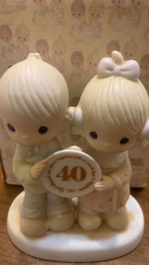 Precious moments 40th anniversary for Sale in Houston, TX