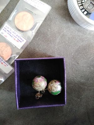 14k antique, handmade REAL post earrings for Sale in Columbus, OH
