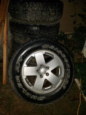 Jeep wheels for Sale in Etna, OH