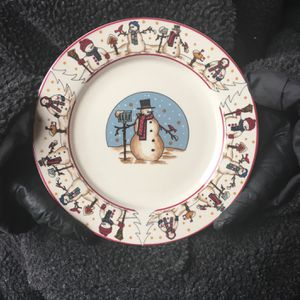 Snowman dish Set for Sale in Orchard Park, NY