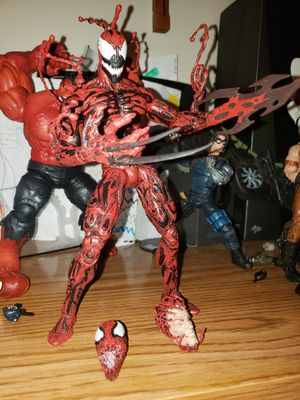 "Marvel Diamond Select CARNAGE 7"" - OR BEST OFFER for Sale in Melrose Park, IL"