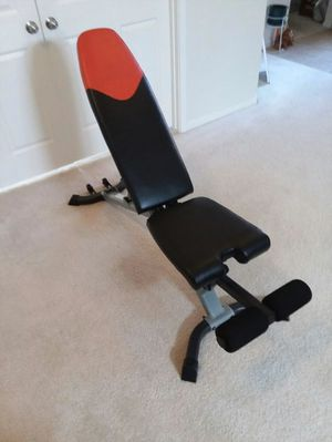 Bowflex Adjustable weight bench for Sale in Cypress, TX