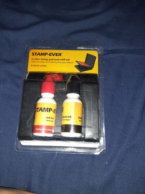 Stamp pad and ink for Sale in Kansas City, KS