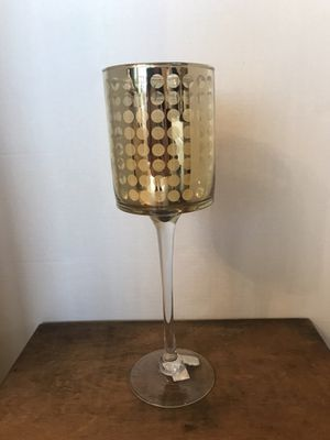 Large gold candle holder for Sale in Miami, FL
