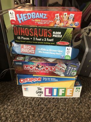 Board games puzzle for Sale in Queen Creek, AZ