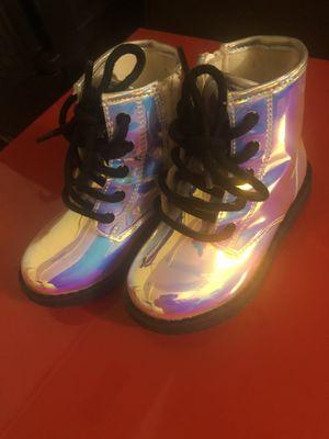 Metallic rain boots for Sale in Alexandria, VA
