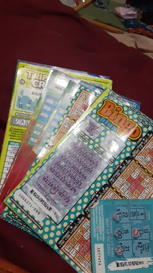 Used california lottery tickets for Sale in San Francisco, CA