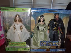 Barbie Lord of the Rings set! for Sale in Tacoma, WA