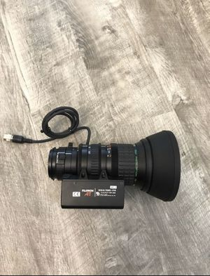 Fuji Fujinon Aspheric 16x TV Zoom Lens, 1:1.4/6.7-107mm with AT S16X6.7BMD-D18 for Sale in Lynnwood, WA