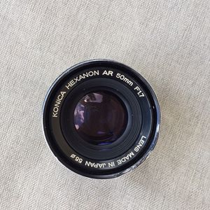 Konica Hexanon Ar 50 Mm 1.7 Lens for Sale in Hialeah, FL