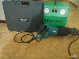 Inifcon Freon scale. Makita sawzall thermaflo recovery system. for Sale in Phoenix, AZ