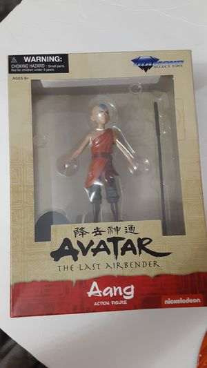 DIAMOND SELECT AVATAR THE LAST AIRBENDER AANG ACTION FIGURE NEW for Sale in Doral, FL