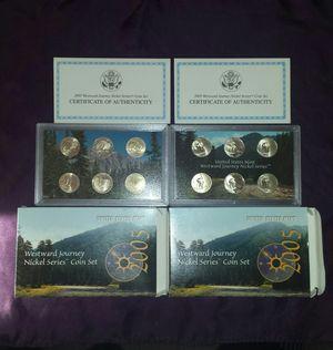 2 2005 Westward Journey Nickels Coin Set for Sale in Antioch, CA