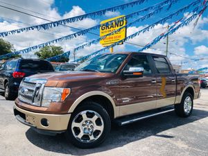 2011 Ford F-150 lariat superscrew can eco boost for Sale in Tampa, FL