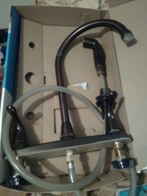 Goose neck kitchen faucet for Sale in Cleveland, OH