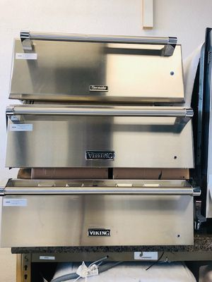 stainless steel warming drawer THERMADOR and VIKING//FREE DELIVERY for Sale in Phoenix, AZ