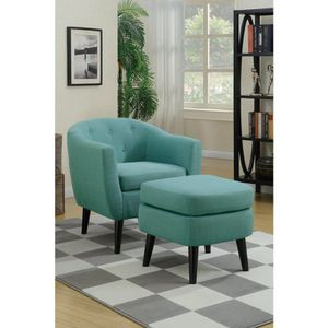 Chair with ottoman on sale @ Elegant Furniture 🛋🎈 for Sale in Fresno, CA